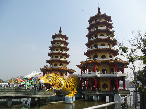 Ta-Kaohsiung-Lotus Pond-Dragon et Tigre (3)