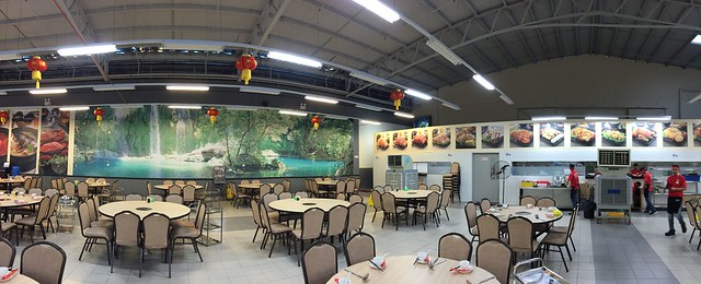 Panorama view of Coco Steamboat at Old Klang Road