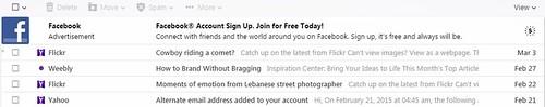 contoh inbox yahoo