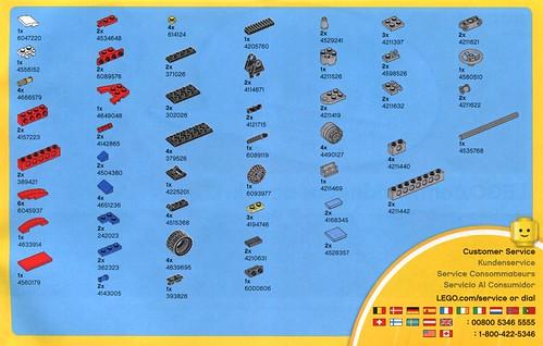 LEGO Creator 31030 Red Go-Kart ins05