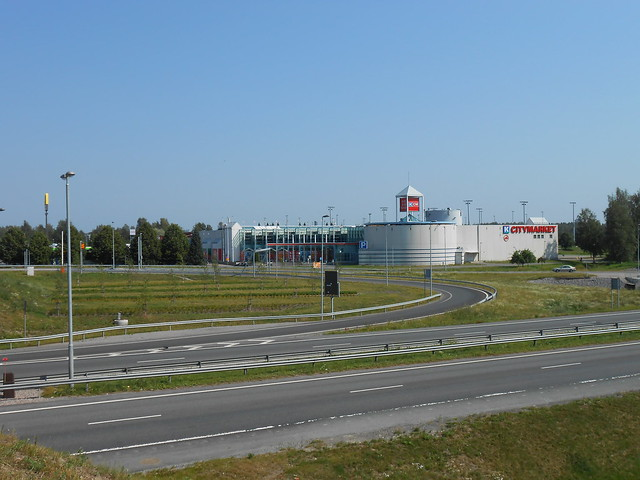 Hämeenlinnan moottoritiekate ja Goodman-kauppakeskus: Työmaatilanne 4.8.2014 - kuva 14