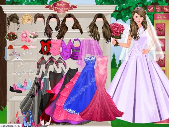 juegos de vestir vestidos de boda – vestidos de mujer
