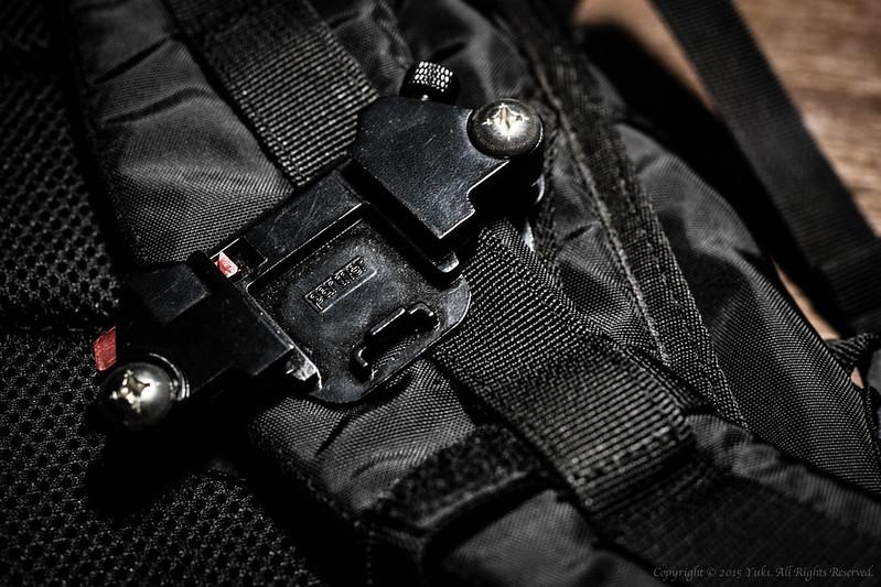 Camera clip system base
