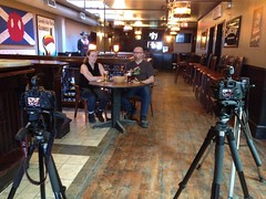 Shooting in a different spot at @PattyBolands for today\'s @SilverStagStdio #NatRT episodes.