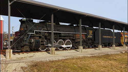 Chesapeake & Ohio 2716 Steam Locomotive