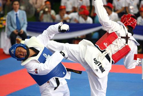 Taekwondo Việt Nam giành 1 HCV,2 HCĐ Giải Châu Á - TBD 2015