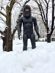 Bionic Bigfoot another 3 to 6 inches today got to love it.