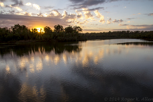 blue sunset sun river gold incomingtide brazos brazosriver