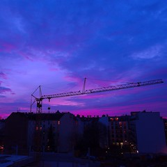 So much pink and purple during #sunset today.