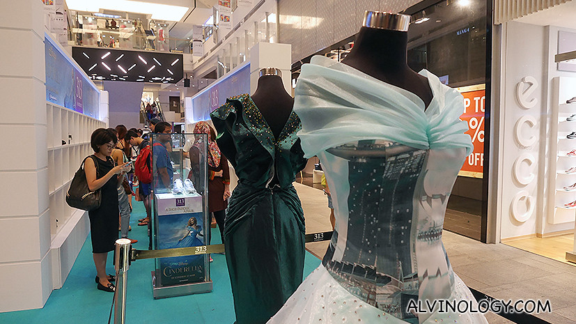 Cinderella-inspired gowns by NAFA students