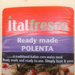 Went to local supermarket to buy polenta. How do I make cakes with this? #fail