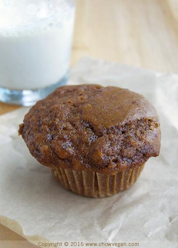 Vegan Ginger Spice Muffin