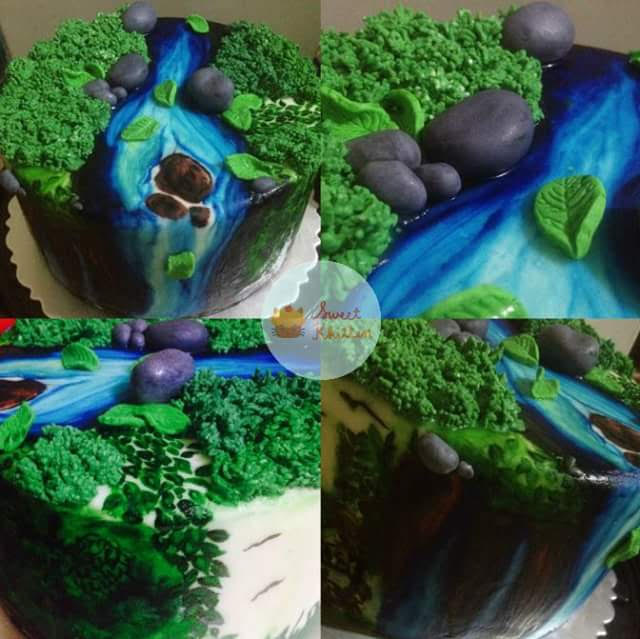 Nature Cake by Tet