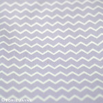 Chevron Fabric in mauve from Gütermann