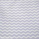 Chevron Fabric in mauve from Gütermann