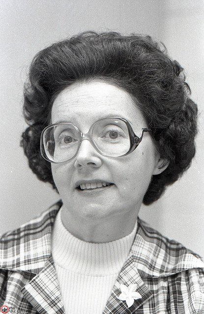 Dr. Virginia Wylie, 1982