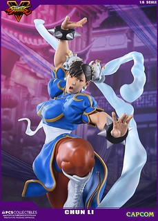 Pop Culture Shock Collectibles 快打旋風V【春麗】Chun-Li 看我的蜜大腿百裂脚!!