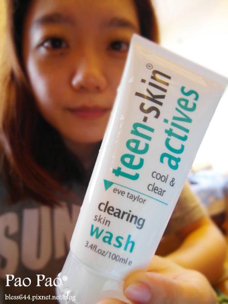 英國 TEEN SKIN ACTIVES 清涼洗顏微粒凝膠