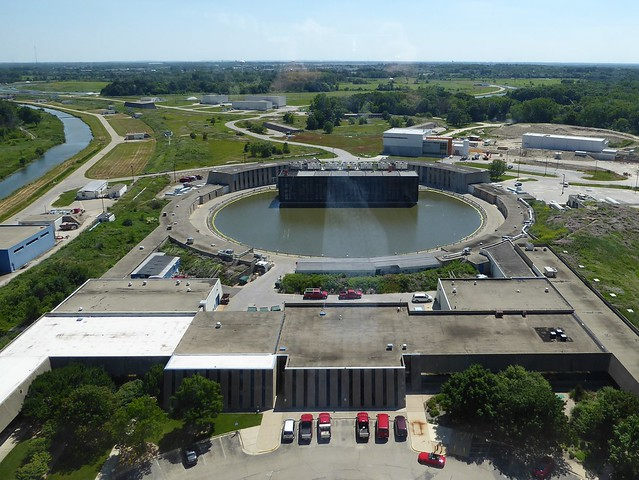 Batavia, IL, Fermi National Accelerator Laboratory, View from Wilson Hall