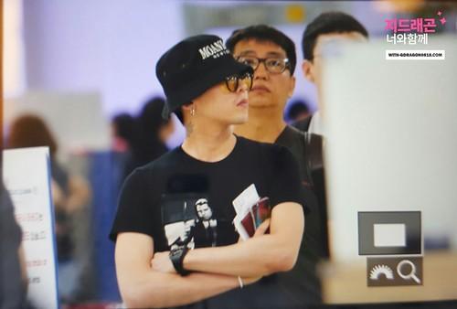 Big Bang - Gimpo Airport - 28jul2016 - With G-Dragon - 04