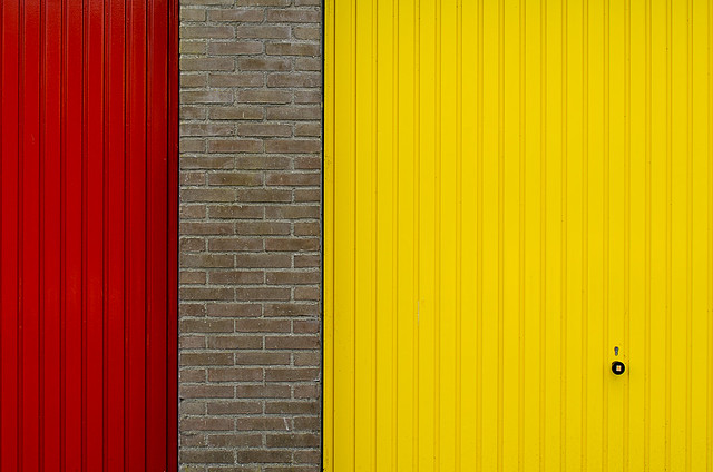 Red and yellow doors (on Explore)