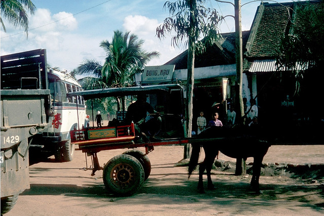Vietnam 1965 - Photo by Ted Yates - Transportation An Khe style