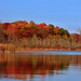 Reflections at Wabasis Lake (10 22 2016) by PhotoDocGVSU