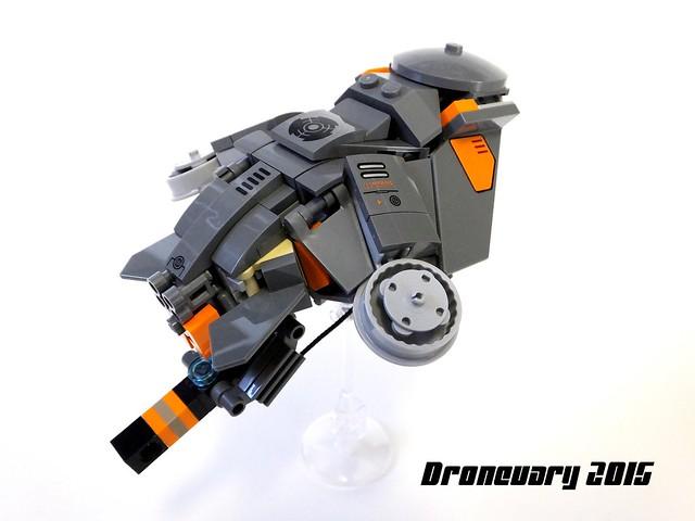"""""""Torrent"""" VTOL Gunship Drone"""