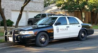Austin, TX Police K-9 Unit Ford Crown Victoria
