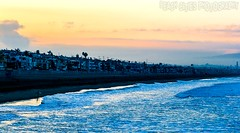 Manhattan Beach at Sunrise