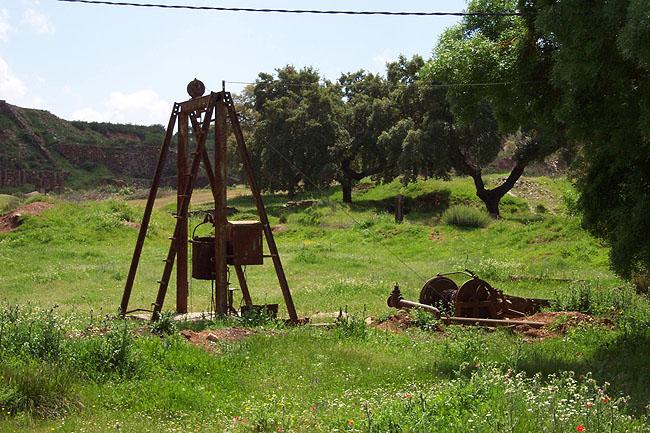 Maquinaria minera. © Paco Bellido, 2006