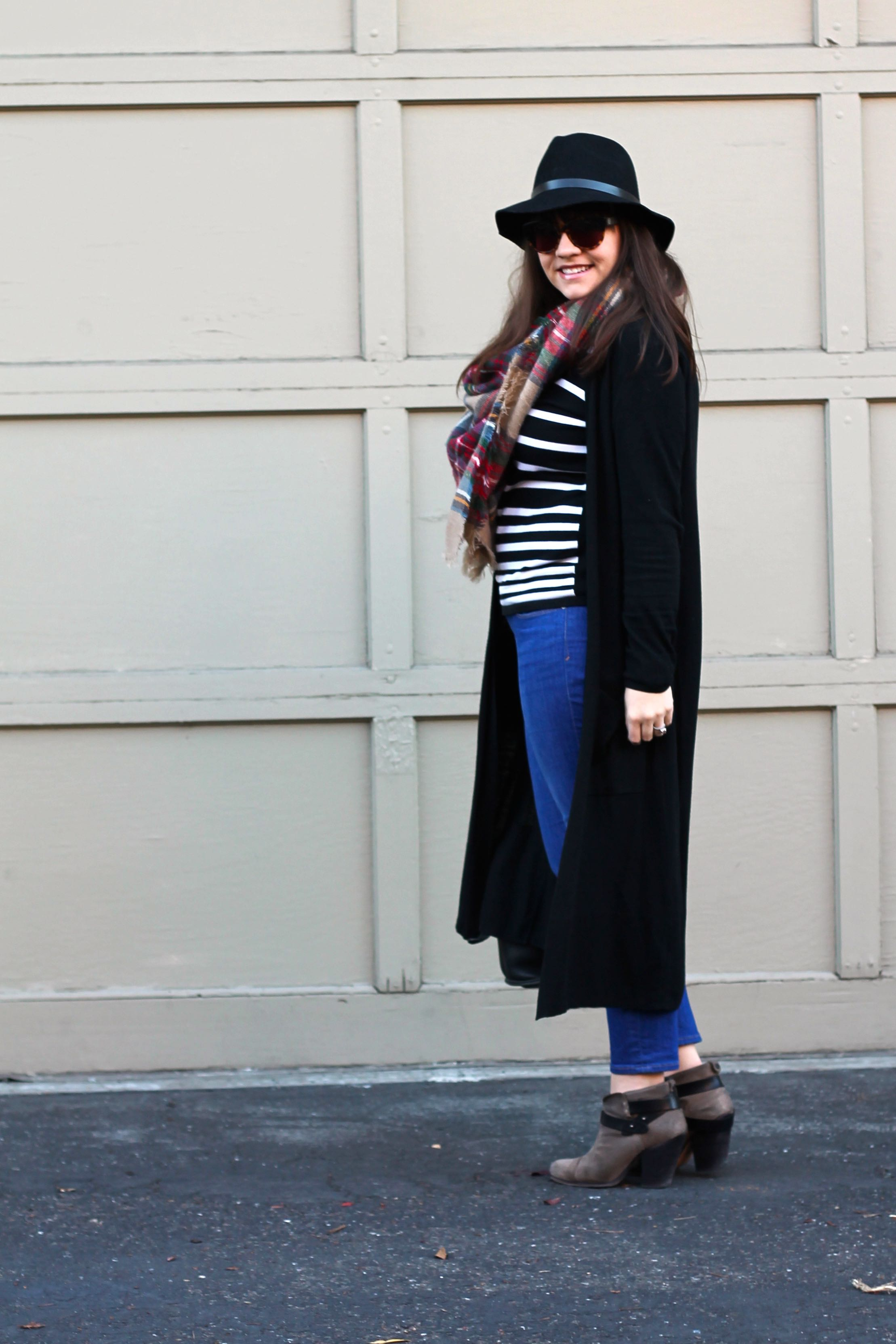 A Duster & A Bucket Bag
