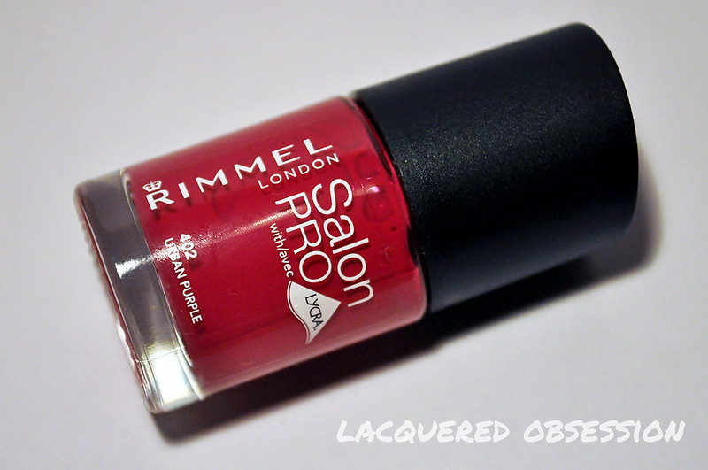 Rimmel Salon Pro Urban Purple + life update