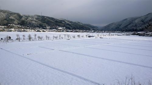 下呂温泉から飛騨高山へ向かう・・・高山市・一面の銀世界