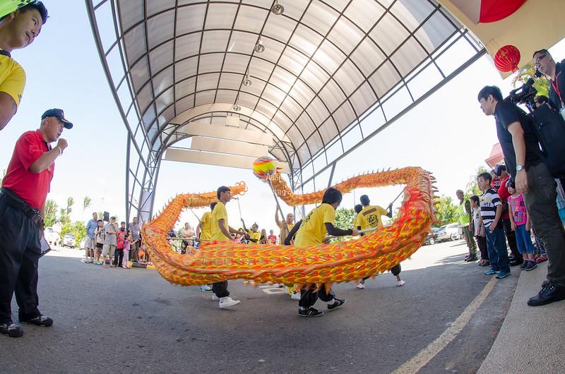 Pesta tarian naga, Unikon dan Singa 2015