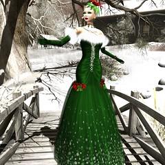 Jamee Sandalwood - Angelica Christmas Gown