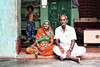 Old couple in Barmer, Rajasthan, India