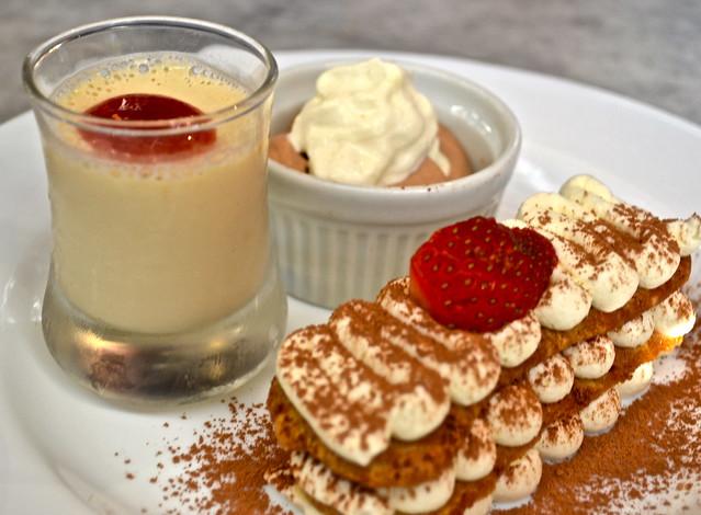 italian desserts - la fattoria italian restaurant guatemala city