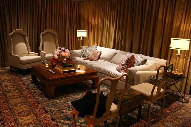 The VIP luxury room inside the bar