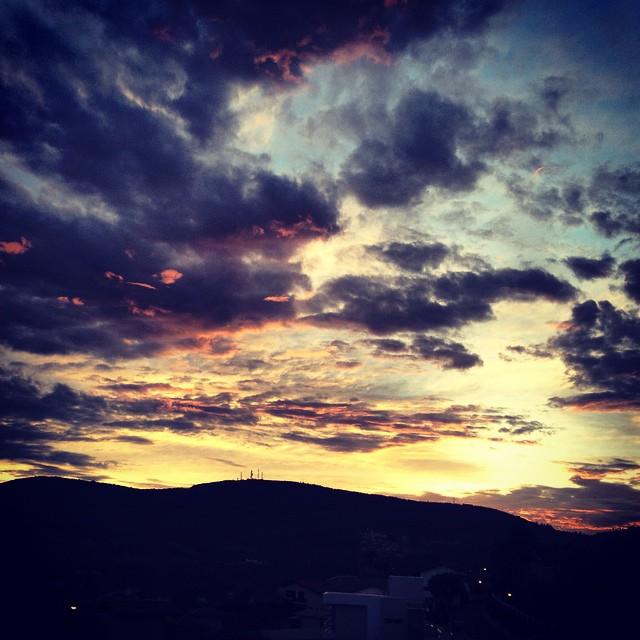 Nascer do sol #serranegra #nascerdosol #sol #sunrise #saopaulo