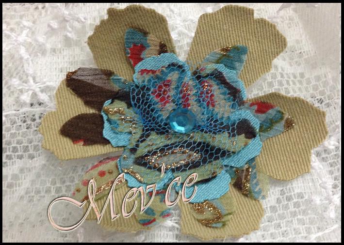 Blue Flowers 03