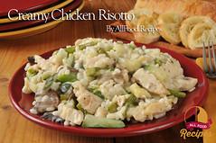 Creamy Chicken Risotto