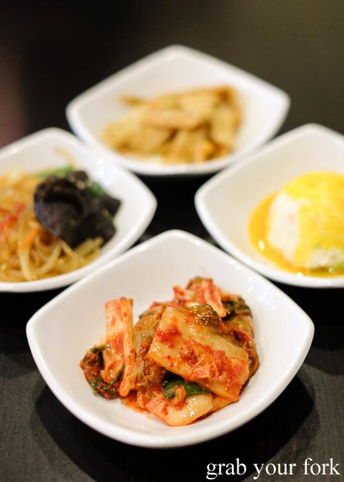 Kimchee panchan from Seoul Orizin, Haymarket Chinatown