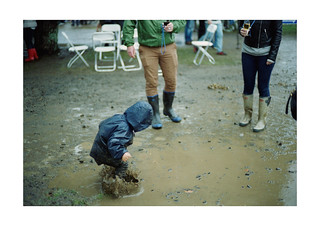 Jumping into puddle