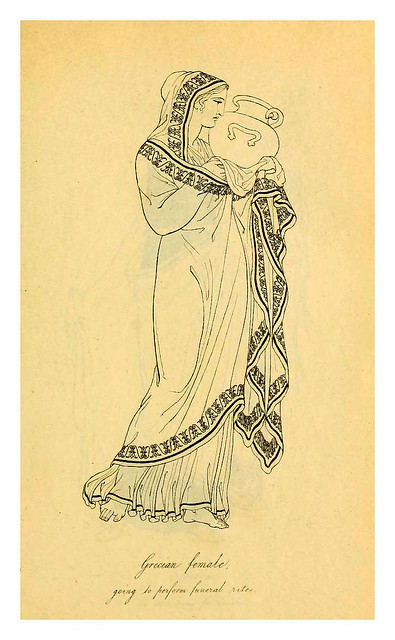 005-Mujer griega-Costume of the ancients-1812-Thomas Hope