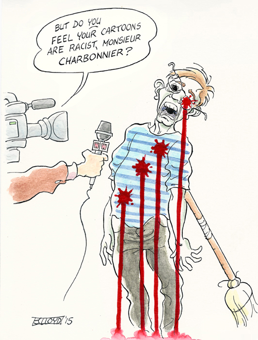 Hebdo cartoon