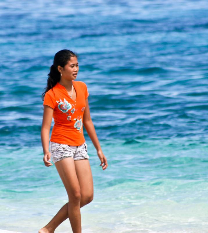 Lovely On The Beach