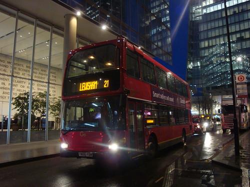 Go-Ahead London 937 on Route 21 Extras, London Bridge