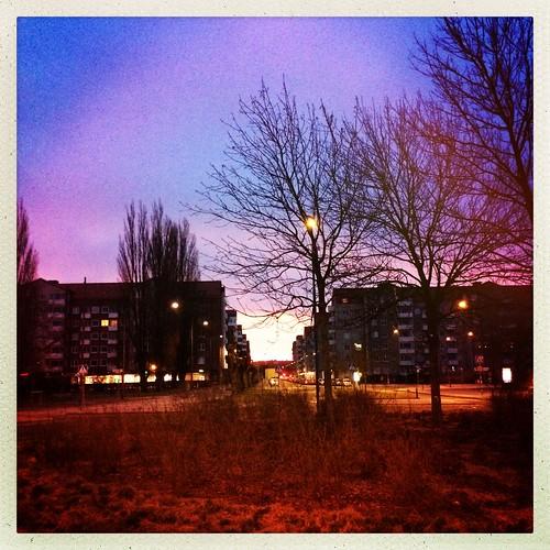 street sunrise spring sweden malmö erikslust hipstamatic instagram iphone5s