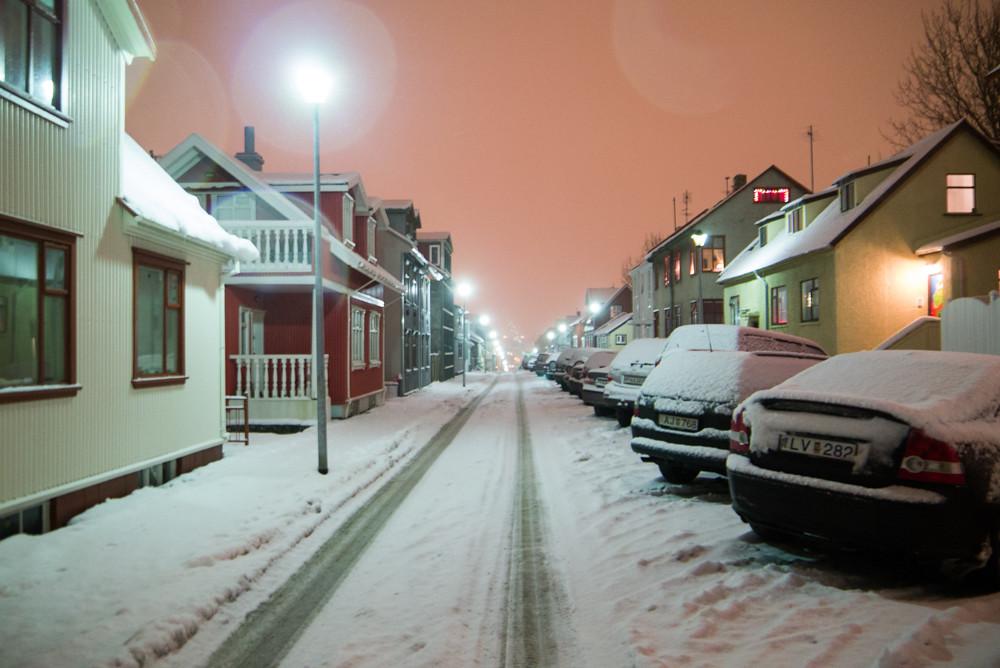 Night in Reykjavik